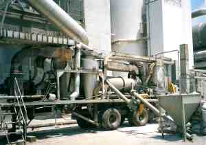 3S-300M Perlite system in operation